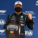Lewis Hamilton misses out on his 100th career pole to Mercedes team-mate Valtteri Bottas at Portugal Grand Prix while Red Bull title rival Max Verstappen will start third