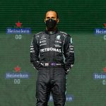 Lewis Hamilton wins Portuguese Grand Prix to open up seven-point lead in championship standings to second-placed Max Verstappen, with Brit's Mercedes team-mate Valtteri Bottas coming third