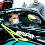 Romain Grosjean to make emotional return to Formula One exactly seven months on from surviving his horror 140mph fireball crash at the Bahrain Grand Prix, as he's allowed to test for Mercedes in Lewis Hamilton's car