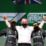 Lewis Hamilton leaps to Mercedes team-mate Valtteri Bottas' defence as F1 star says 'people need to give him a break'