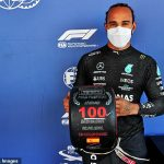 Lewis Hamilton snatches his 100th pole position at the Spanish Grand Prix after just edging out Max Verstappen and Valtteri Bottas in Barcelona