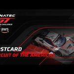 COTA Postcard - Fanatec GT World Challenge America powered by AWS 2021