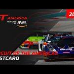 COTA Postcard - GT America powered by AWS 2021