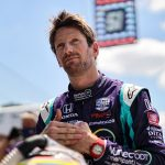 Grosjean Feels at Home during First Laps on IMS Road Course