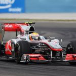 Lewis Hamilton's 2010 race-winning McLaren, which he drove to victory in Turkey, Canada and Belgium, is to be auctioned off LIVE ahead of the British GP... with the car expected to fetch £5M when it goes under the hammer