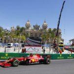 Monaco GP: Ferrari fastest as Charles Leclerc and Carlos Sainz top second practice