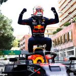 Max Verstappen takes advantage of Charles Leclerc being forced out pre-race to WIN the Monaco Grand Prix and move ahead of rival Lewis Hamilton in the race for the world championship