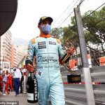 Lando Norris laps up praise of 7,500 Monte Carlo fans and admits 'it is a dream to be on podium in Monaco' as Brit earns impressive third place... but he insists he DOESN'T feel like a star despite riding high in championship