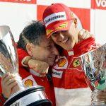 Michael Schumacher's former Ferrari boss reveals he sees F1 legend regularly and recalls 'beautiful experiences'