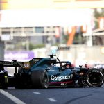 Lance Stroll smashes into concrete wall at 200MPH following failure to his left rear tyre at Azerbaijan Grand Prix - with serious questions to be asked of Pirelli after EXACTLY the same puncture occurred to race leader Max Verstappen minutes later