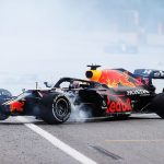 Max Verstappen 'frustrated' after tyre blowout costs him Azerbaijan Grand Prix victory as he reveals he found out about title rival Lewis Hamilton's error while getting his blood pressure checked after 200mph crash