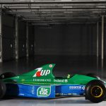 Michael Schumacher's first-ever F1 car from 1991 Belgian Grand Prix debut up for sale for £1.25m