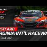 VIR POSTCARD - Fanatec GT World Challenge America powered by AWS 2021