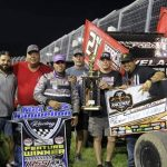 Taylor Velasquez Victorious with United Rebel Sprint Series at Dodge City Raceway