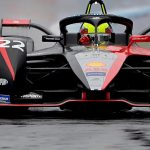 Rowland sets the benchmark in damp and frenetic Free Practice 1 in Puebla