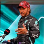 Lewis Hamilton hits out at Sky Sports pundit Paul di Resta over 'myth' surrounding Mercedes chassis swap after he outqualifies teammate Valtteri Bottas for the French Grand Prix in second behind rival Max Verstappen
