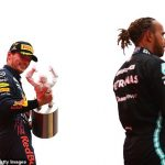 JONATHAN McEVOY: This Formula One season is a real heavyweight contest between Lewis Hamilton and Max Verstappen... Why my money's on the Brit (just) to have his arm aloft at the final bell