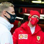 Vettel helped Schumacher with Haas seat problem
