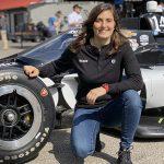 Female Driver Calderón To Test July 6 for AJ Foyt Racing
