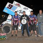 Ty Williams Triumphs Battle at Rush County Speedway with United Rebel Sprint Series
