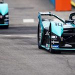 Bird and Evans lock out front row for Jaguar Racing in New York City