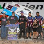 Ty Williams Victorious at Wheat Shocker Nationals Preliminary Night with United Rebel Sprint Series