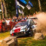 Rovanperä snatches slender early lead in Estonia