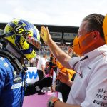 Norris not in perfect condition for British GP
