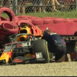 Lewis Hamilton sends his best wishes to Max Verstappen after 180mph Silverstone crash left Dutch ace in hospital