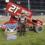 Taylor Velasquez Sweeps Weekend with United Rebel Sprint Series at Dodge City Raceway Park