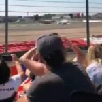 Dramatic F1 fan footage shows brutal impact of Max Verstappen's 180mph crash as Lewis Hamilton is blamed for collision