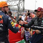 'The gloves are off!': Jenson Button predicts Lewis Hamilton and Max Verstappen F1 title battle to become 'feisty' with 'fisticuffs' for rest of the season after their controversial collision at the British Grand Prix
