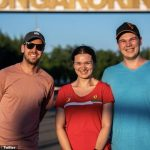 Seb plays Cupid! Vettel leaves couple stunned as F1 star turns up to engagement outside Hungaroring race track as Aston Martin driver wins more praise after litter picking at Silverstone and taking a stand against anti-LGBTQ+ laws in Hungary