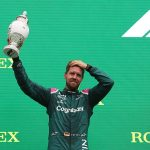 Sebastian Vettel is DISQUALIFED from the Hungarian Grand Prix after failing to provide a sufficient fuel sample at the finish with Lewis Hamilton taking second instead... but Aston Martin say they plan to appeal to the FIA