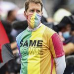 Defiant Sebastian Vettel warned for wearing rainbow T-shirt in stance against Hungary's anti-LGBTQ+ law before being DQd