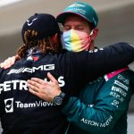 Lewis Hamilton backs Sebastian Vettel after F1 reprimand for 'same love' T-shirt