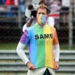 Lewis Hamilton slams FIA's 'bulls***' decision to warn Sebastian Vettel for wearing rainbow T-shirt at Hungarian GP