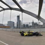 Herta Stays On Top in Hectic Second Practice at Nashville