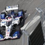 Rahal Leads Nashville Warmup, Poised for Another Charge