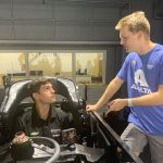 VeeKay Shares IMS Road Course Secrets with Byron in Chevy Sim