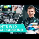 Ant's W10 Walkaround: What's it Like Driving a Modern F1 Car?