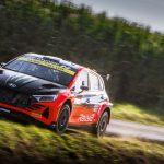WRC2: Solberg leads despite Saturday struggle