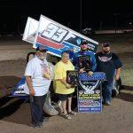 Koby Walters Wins United Rebel Sprint Series Bob Salem Memorial Finale with Last Lap Pass