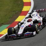 Mazepin up and racing in new Haas chassis
