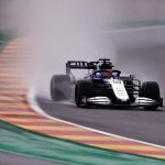 George Russell denied spectacular pole at Belgian GP by last-gasp Max Verstappen lap as Lewis Hamilton qualifies third