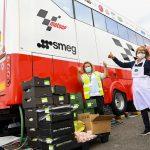 MotoGP™ contributes to British GP food surplus initiative