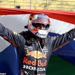 Max Verstappen WINS the Dutch Grand Prix after being roared to victory on home soil by a raucous crowd... with second-placed Lewis Hamilton slipping behind his fierce rival in race for the title