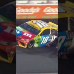 Kyle Busch out early at Darlington after contact with Austin Dillon   #shorts   NASCAR
