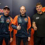 Acosta, Fernandez join Red Bull KTM Ajo Moto2™ for 2022