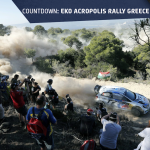 Greece countdown - rally route
